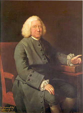 Charles Jennens - Charles Jennens; painting by Mason Chamberlin the elder.