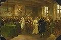 Charles Rochussen - Prins Maurits van Oranje ontvangt een delegatie uit Rusland in 1614.jpg