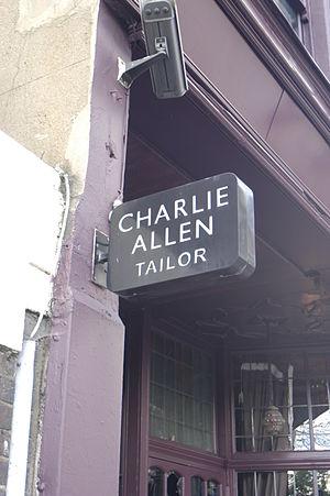 Charlie Allen (designer) - Charlie's Upper street sign.