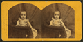 Charlie Bendell Harkness, aged 8 months. Rockport, Maine, from Robert N. Dennis collection of stereoscopic views.png