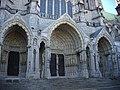 Chartres - cathédrale, transept nord (02).jpg