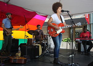 Chastity Brown - Chastity Brown and band in 2014