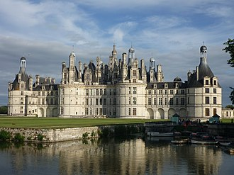 Chateau de Chambord (1519-1547), one of the most famous examples of Renaissance architecture Chateau de chambord.jpg