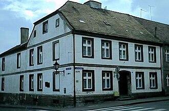 Kurt Schumacher - Birthplace in Chełmno