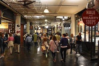Chelsea Market - Image: Chelsea Market in 2015
