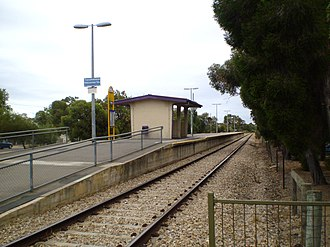 Cheltenham railway station, Adelaide - Image: Cheltenham Railway Station Adelaide