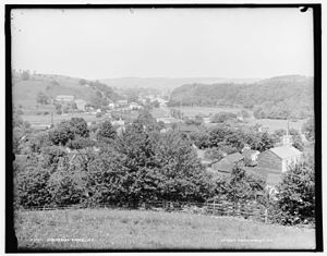 Chenango Forks, New York - Chenango Forks in the early 1900s