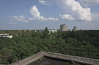 Chernobyl nuclear disaster aftermath abandoned town of Pripyat 01.jpg