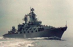 2008年 ,瓦良格号经过大修后重新加入太平洋舰队。