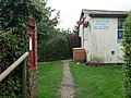 Chettle, postbox No. DT11 57, outside post office - geograph.org.uk - 953794.jpg