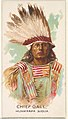 Chief Gall, Hunkpapa Sioux, from the American Indian Chiefs series (N2) for Allen & Ginter Cigarettes Brands MET DP828039.jpg