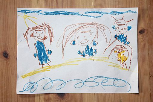 Child's drawing A