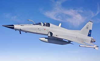 Chilean Air Force - A Chilean Air Force F-5E in flight