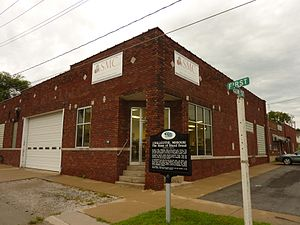 Sliced bread - Chillicothe Baking Company's building in Chillicothe, Missouri, where bread was first machine-sliced for sale