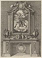 Chimney with a Painting of Louis XIV over the Mantle, from 'Grandes Cheminée' MET DP830824.jpg