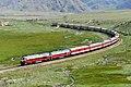 China Railways passenger train K169 on Southern Xinjiang railway 20120803.jpg