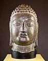 Chinese Northern Wei Dynasty Head of a Buddha 550–770.jpg