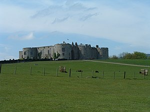 Chirk Castle - Image: Chirk Castle Overview
