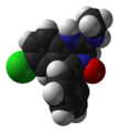 Chlordiazepoxide-from-xtal-1982-3D-vdW.png
