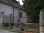 Chlum u Třeboně - kříž při čp. 11 (1).JPG