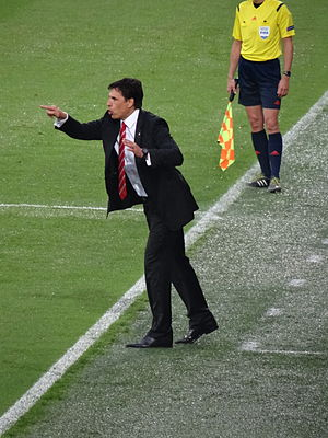 Chris Coleman (footballer) - Coleman as manager of Wales in 2015