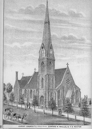 Alfred T. Andreas - Image: Christ Church Red Wing 1874