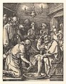 Christ Washing the Feet of the Disciples, from The Small Passion MET DP820443.jpg