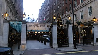 Grosvenor House Hotel - Courtyard entrance on Park Street