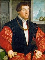 Portrait Christoph Baumgartner (1514-1586)
