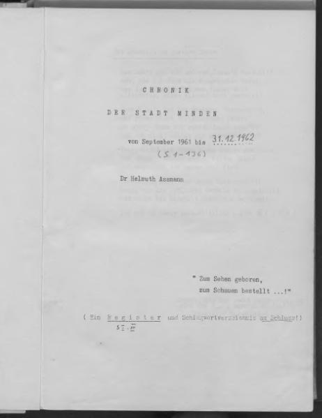 File:Chronik der Stadt Minden, 1962.djvu