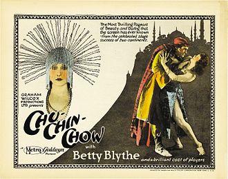 Chu-Chin-Chow (1925 film) - Image: Chu Chin Chow 1925 movie poster