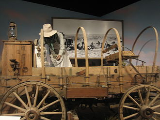 Panhandle–Plains Historical Museum - Chuckwagon exhibit at Panhandle-Plains Museum