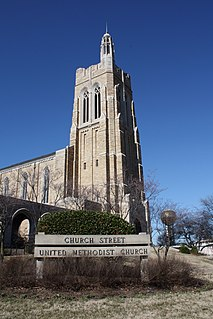 Church Street United Methodist Church (Knoxville, Tennessee) United States historic place