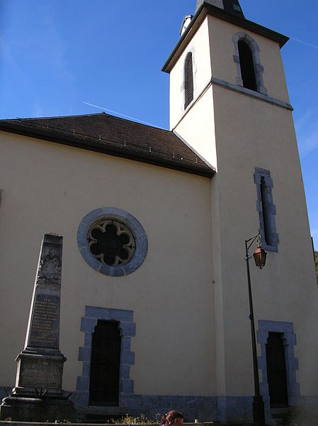 Church of Monnetier; municipality of Monnetier-Mornex, Haute Savoie, France