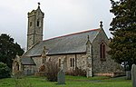 Church of St Llwchaiarn, Llandyssil