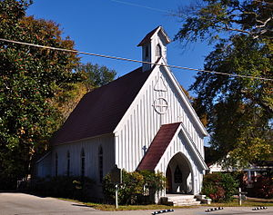 National Register of Historic Places listings in Tishomingo County, Mississippi - Image: Church of Our Savior