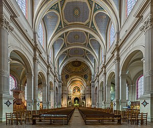 Saint-François-Xavier, Paris - Image: Church of Saint François Xavier Interior, Paris, France Diliff