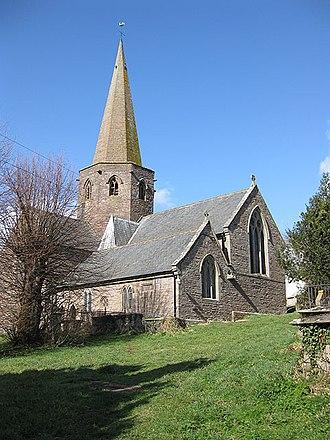 Grosmont, Monmouthshire - Church of St Nicholas