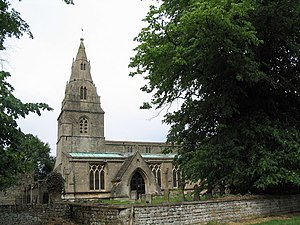 Clipsham - Image: Church of St Mary, Clipsham geograph.org.uk 188940