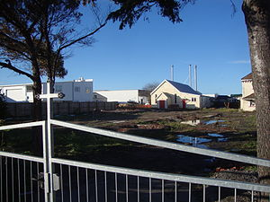 Church of the Good Shepherd, Christchurch - Church of the Good Shepherd after demolition