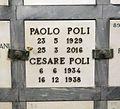Cimitero delle porte sante, tomba di paolo poli.jpg