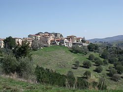 Panorama of Cinigiano