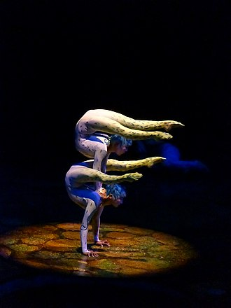 Alegría (Cirque du Soleil) - Contortion artists