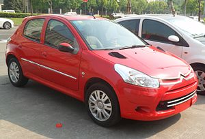 Citroën C2 - Citroën C2 in China