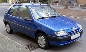 Citroën Saxo - Image: Citroen Saxo front 20080403
