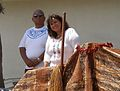 City Councilwoman Esther Sanchez and Charlie Brown of the Viejas Band of Mission Indians.jpg
