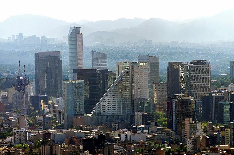 Ciudad.Mexico.City.Distrito.Federal.DF.Reforma.Skyline.