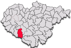 Commune Cizer in Sălaj County