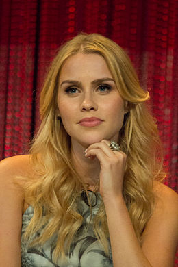 Claire Holt at PaleyFest 2014.jpg
