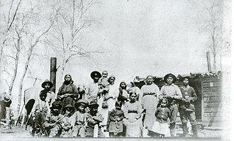Atikamekw - Image: Clan Etcakwan et Nepinatcac debut 1900